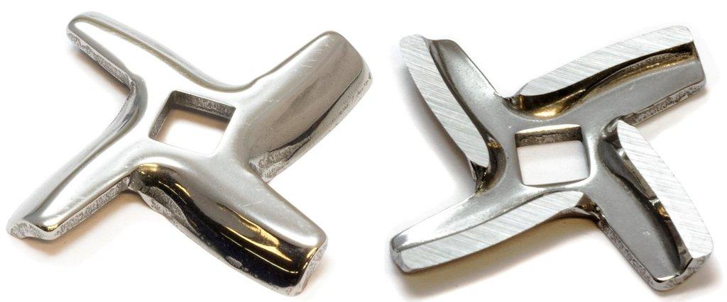 Запчасти для электромясорубок: Нож для мясорубки -квадрат, (посадка 7.5mm, L45, H4.6),зам. MS003, MGR106UN, MM0111W в АНС ПРОЕКТ, ООО, Сервисный центр