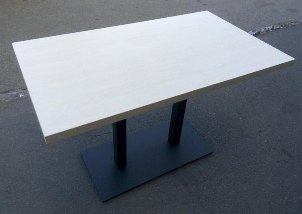 Столы для ресторана, бара, кафе, столовых.: Стол прямоугольник 1200х700, подстолья 01 R-80 чёрная в АРТ-МЕБЕЛЬ НН
