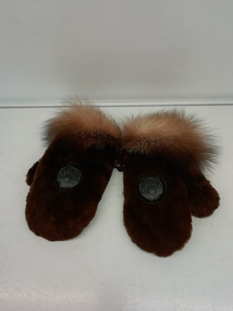 Изделия из натурального меха и кожи (перчатки, варежки, тапочки): Варежки детские мутон в Сельский магазин