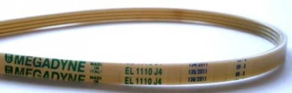Ремни привода барабана: Ремень для стиральной машины 1110 J4, WN256, 053714, 16cn13, 081730 в АНС ПРОЕКТ, ООО, Сервисный центр