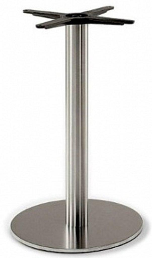 Подстолья для столов.: Подстолье 1201EM (нержавеющая сталь матовое) в АРТ-МЕБЕЛЬ НН