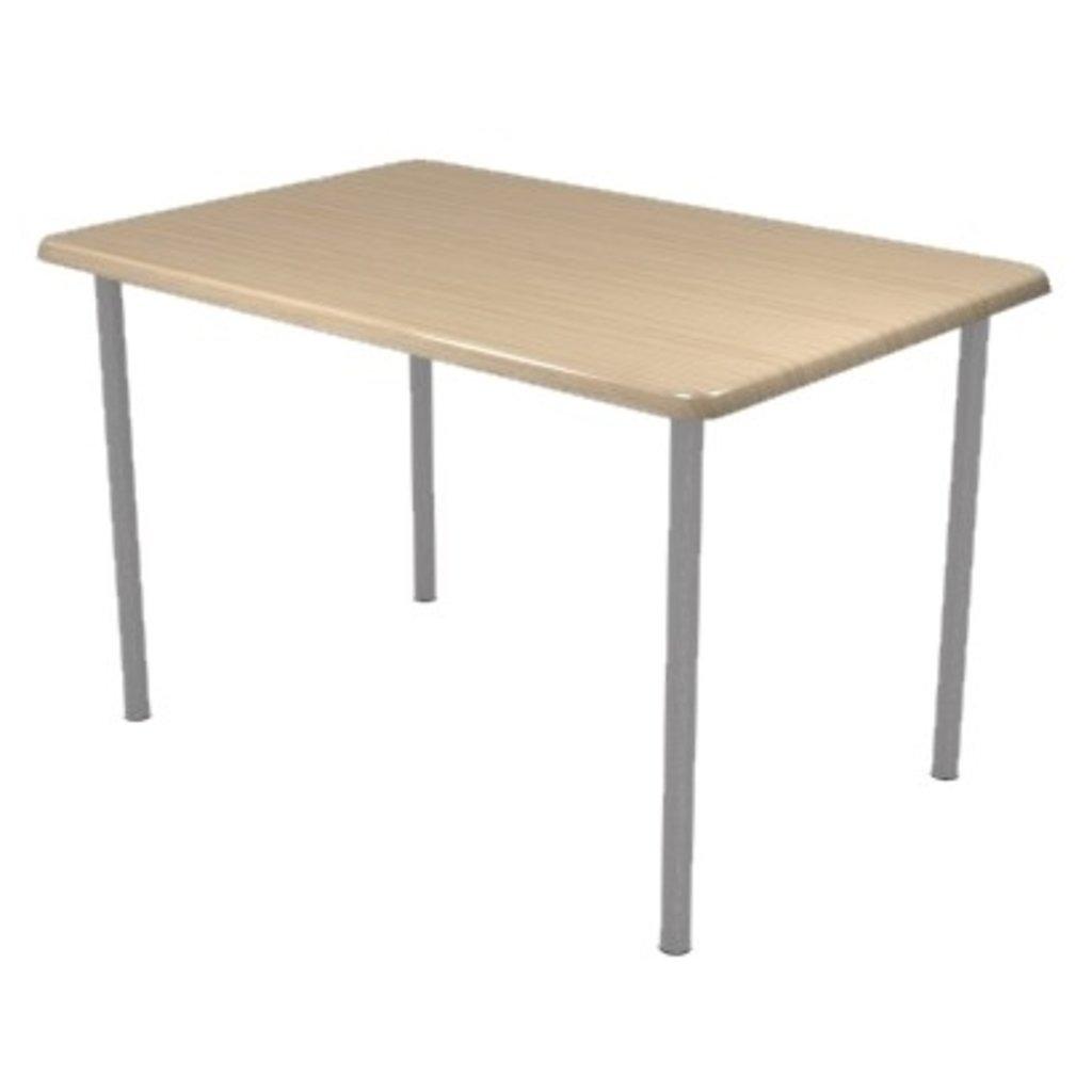 Столы для ресторана, бара, кафе, столовых.: Стол прямоугольник 110х70, подстолья № 8 прямоугольник серая в АРТ-МЕБЕЛЬ НН