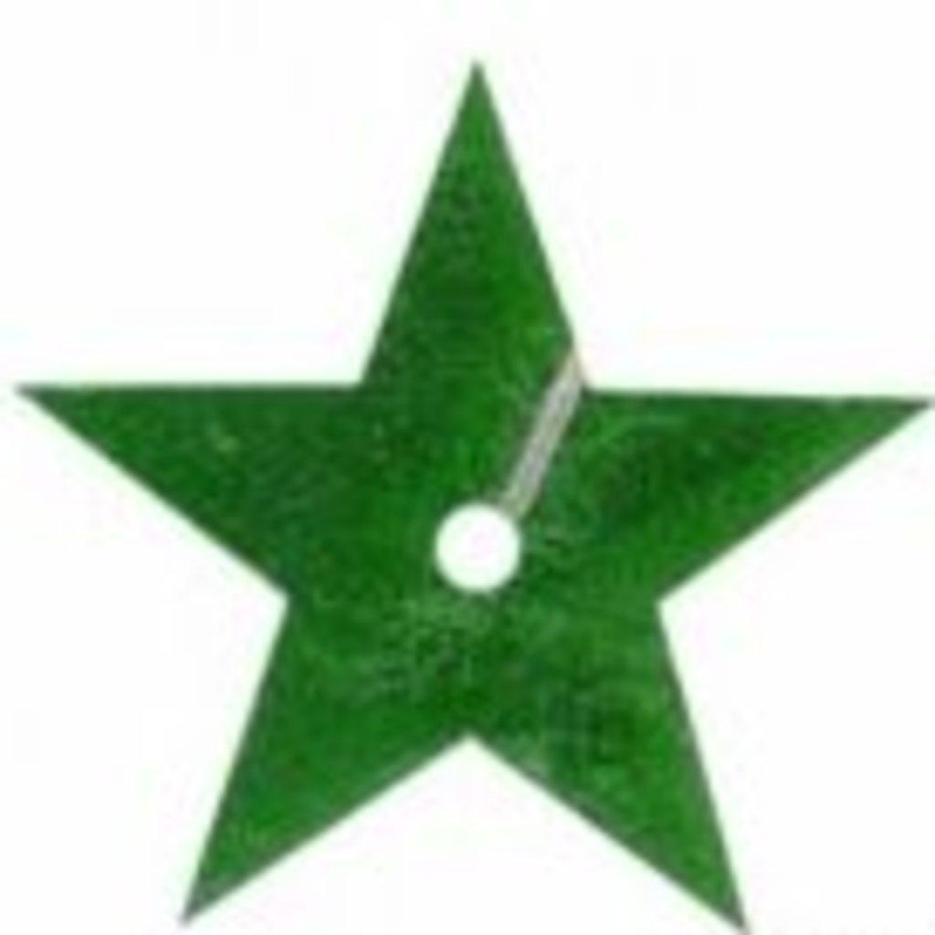 Звездочки: Пайетки звездочки,20мм.,упак/10гр.Астра(цвет:4 зеленый) в Редиант-НК