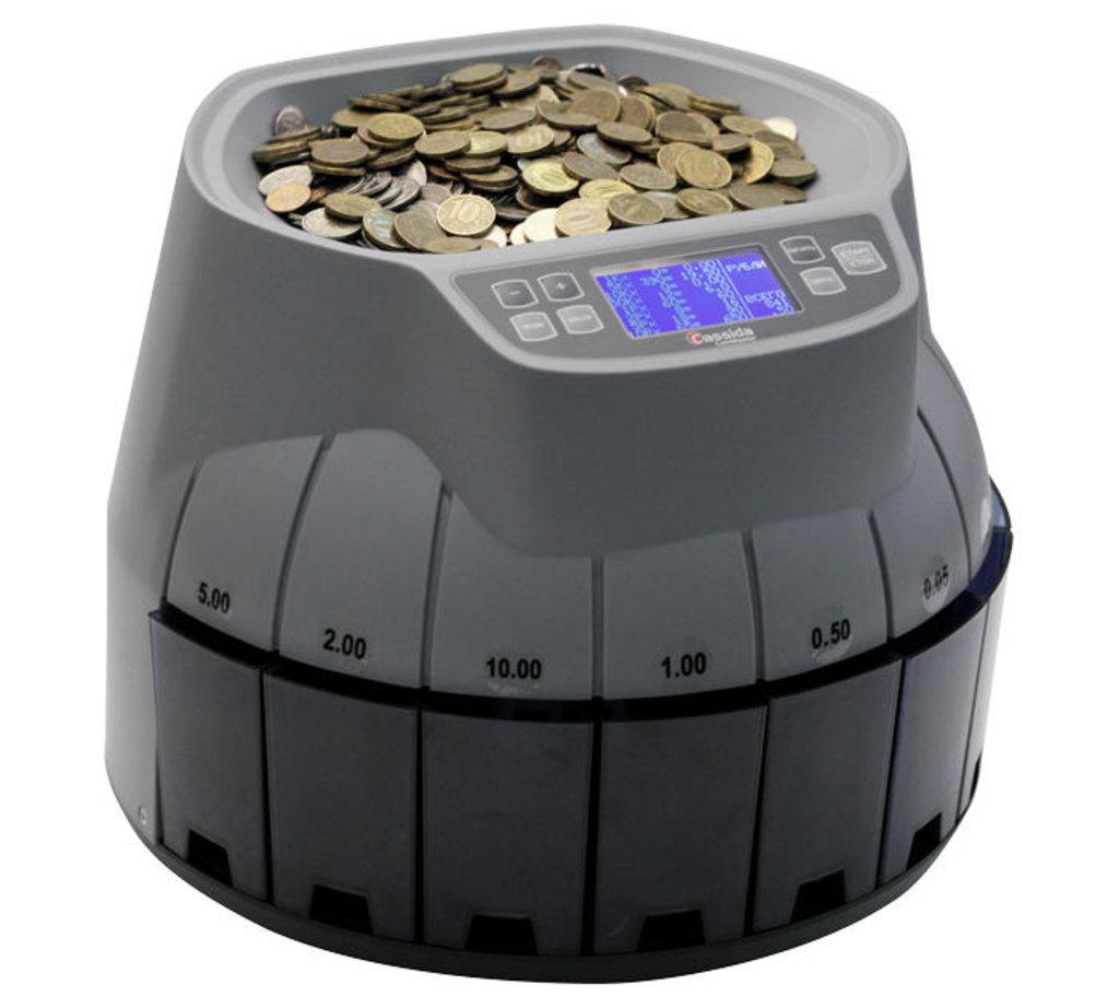 Сортировщики и счетчики монет: Cassida CoinMaster Сортировщик монет в Рост-Касс