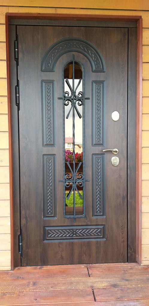 Входные двери (элит) от 110-130мм: Входная морозостойкая дверь c ТЕРМОРАЗРЫВОМ 13 см VITRA Винорит Патина (Израиль) в Пластиковые окна в Сургуте STEKLOMASTER