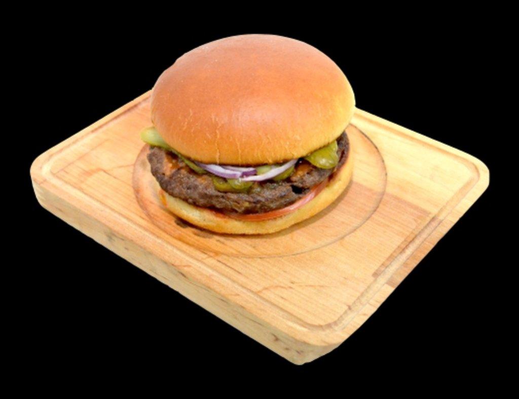 Горячие блюда: Бургер с халапеньо в ХИТО СУШИ