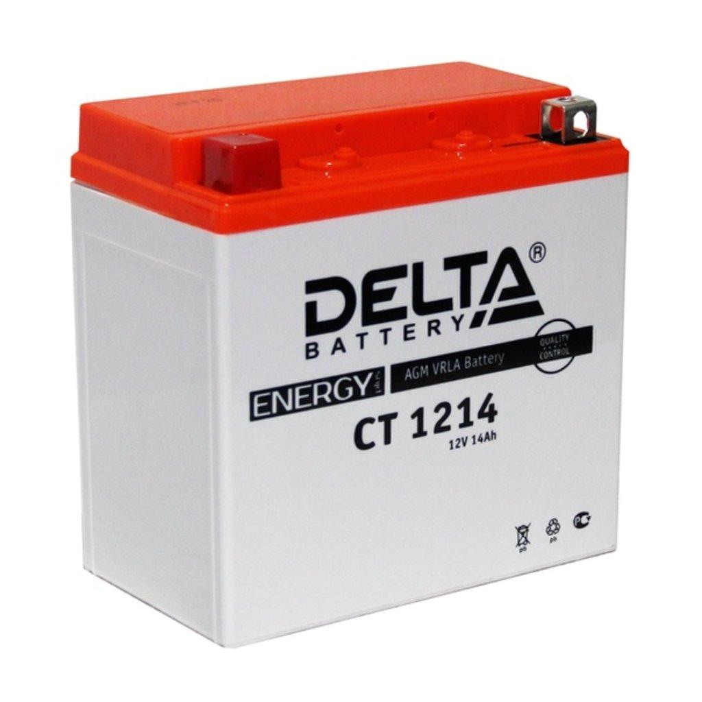 Delta: DELTA CT 1214 14Ah в БазаАКБ