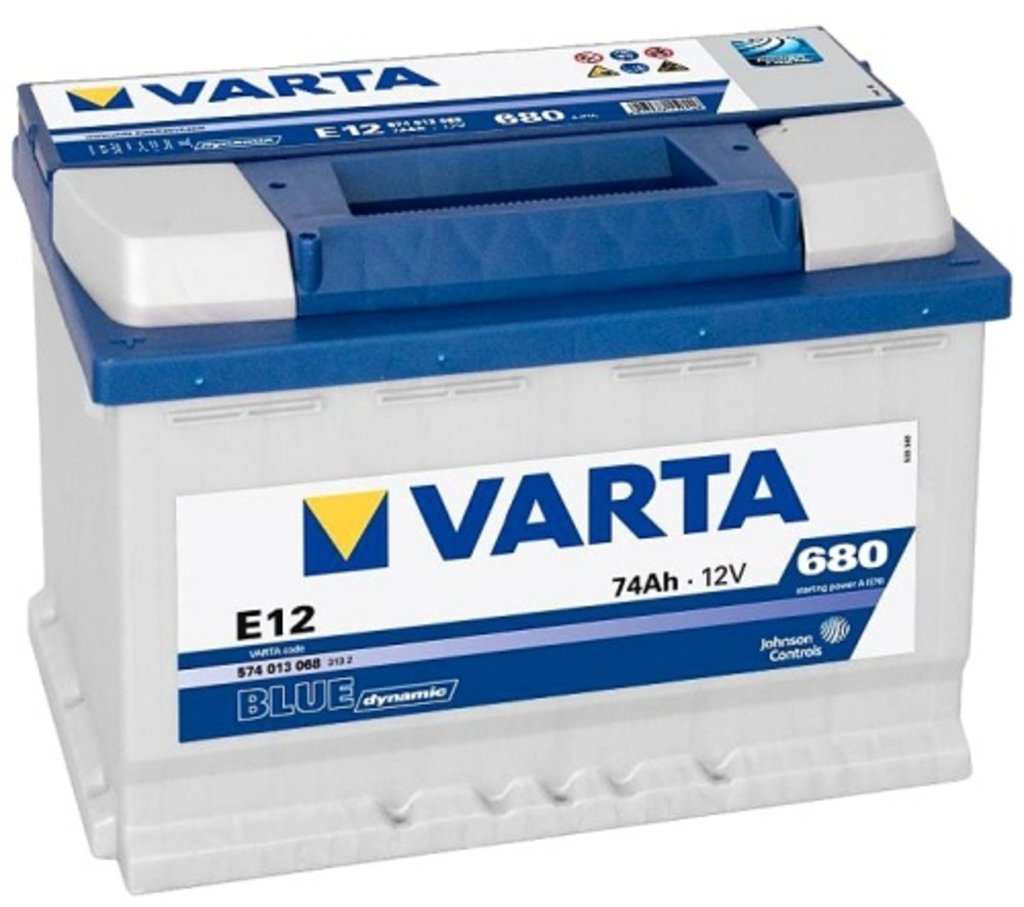 VARTA: VARTA Blue Dynamic 12V 74Ah в БазаАКБ