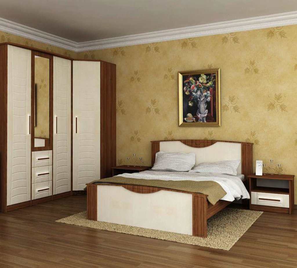 Модульная мебель в спальню Комфорт-2: Модульная мебель в спальню Комфорт-2 в Стильная мебель