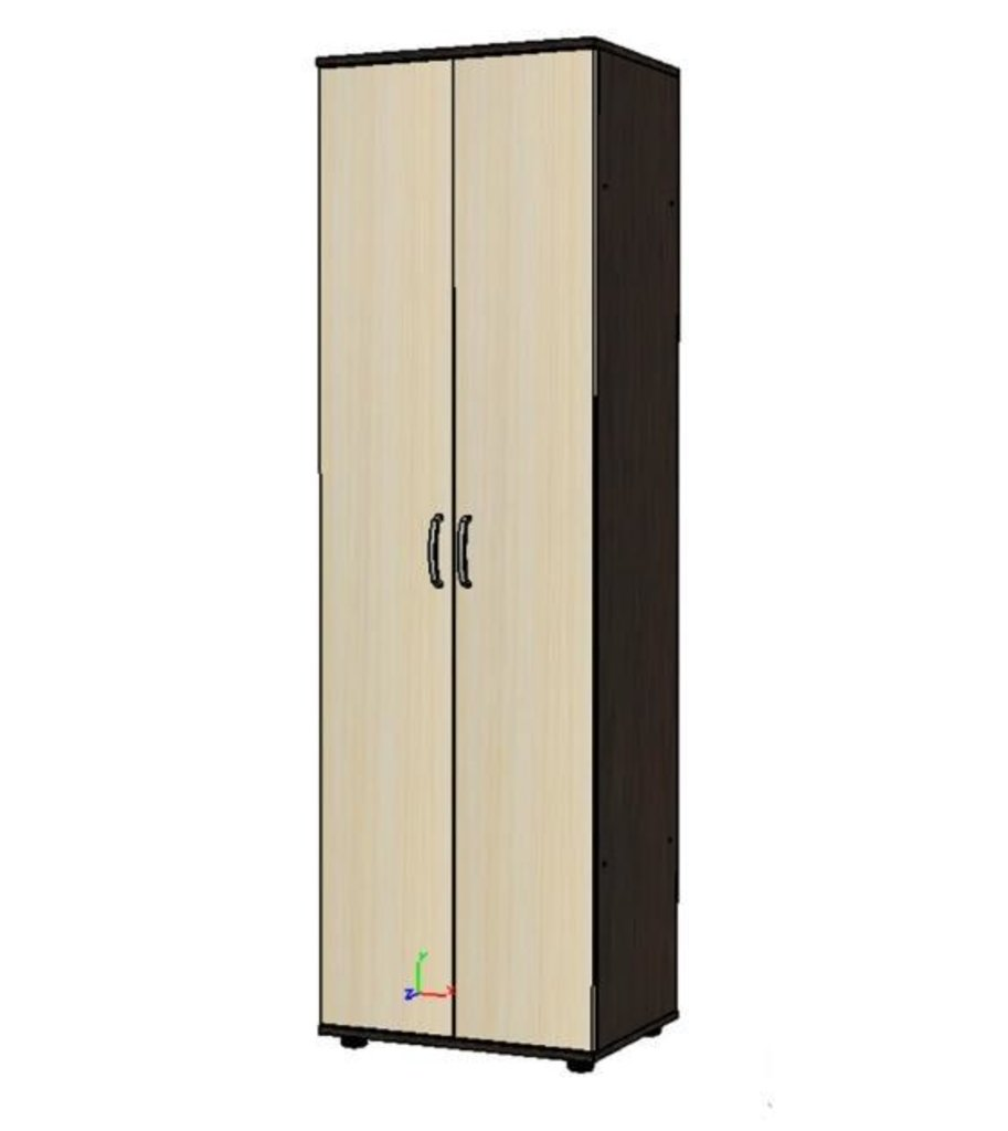 Мебель для гостиной Стиль - 7(А) + шкаф ЛДСП: Шкаф для гостиной Стиль-7 (А) ЛДСП (дуб молочный, венге) в Диван Плюс
