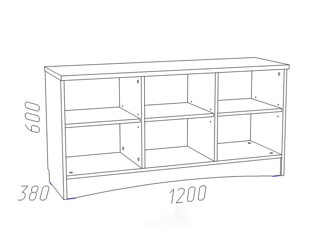 Тумбы и стойки под телевизор и аппаратуру: Тумба ТВА НМ 014.52 Прованс в Стильная мебель