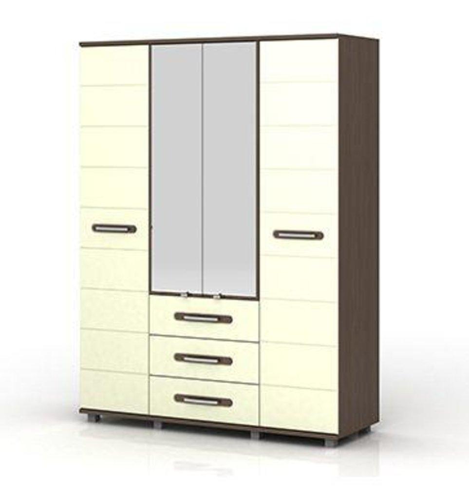 Шкафы для спальни: Шкаф 4-х створчатый Инфинити (1600) в Стильная мебель