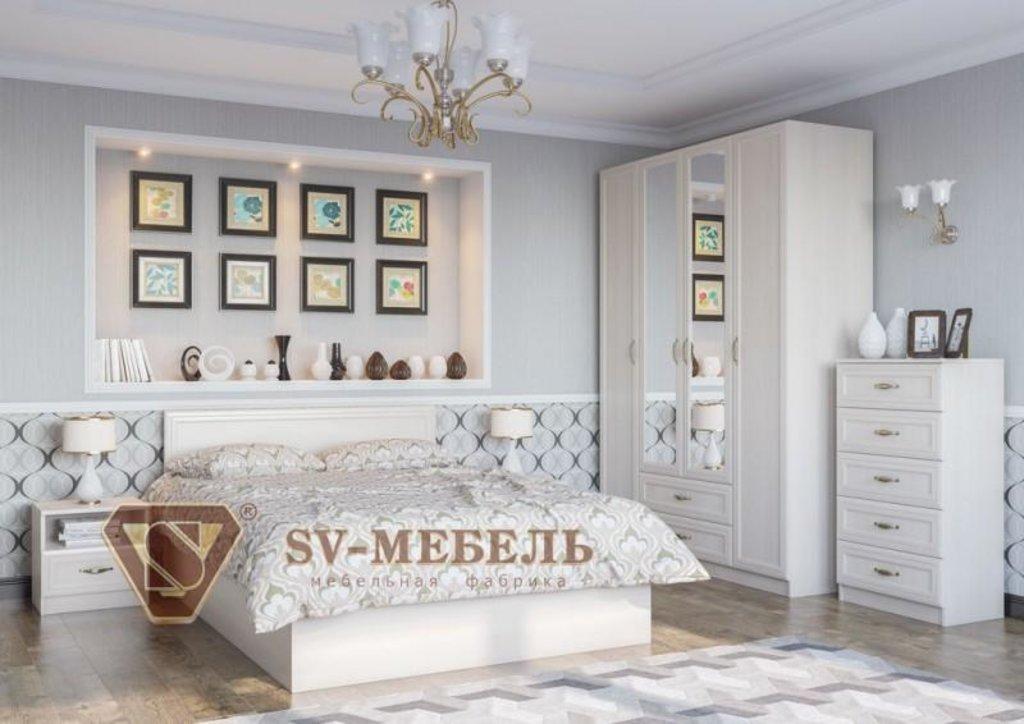 Мебель для спальни Вега: Кровать универсальная (Без матраца 1,6*2,0) ВМ-15 Вега в Диван Плюс
