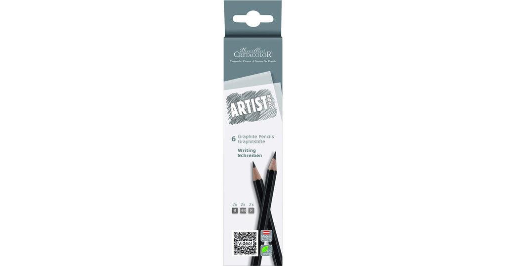 Чернографитные карандаши: Набор графитовых карандашей 6шт Artist Studio Line, для графики в Шедевр, художественный салон