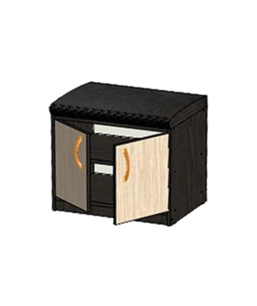 Мебель для прихожей Визит-5: Тумба-банкетка Визит-5 в Диван Плюс