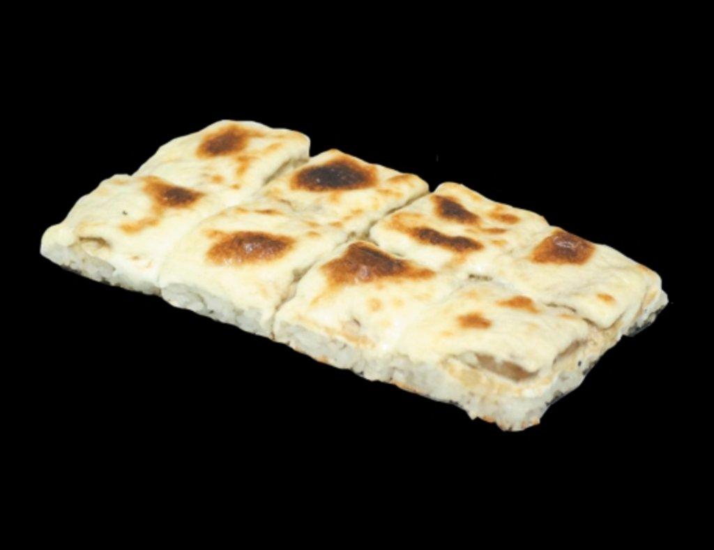 Запеченные роллы: Рисовая пицца с креветкой в ХИТО СУШИ
