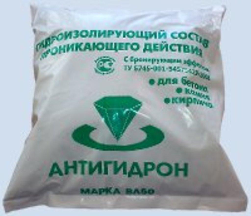 Пластификаторы и добавки в растворы: Антигидрон ВЛ 50, гидроизоляция (5кг) в 100 пудов