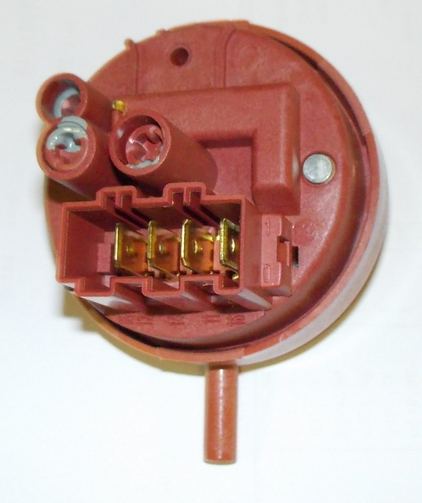 Датчики/выключатели/переключатели: Прессостат (датчик уровня воды) для стиральных машин в ассортимента в АНС ПРОЕКТ, ООО, Сервисный центр