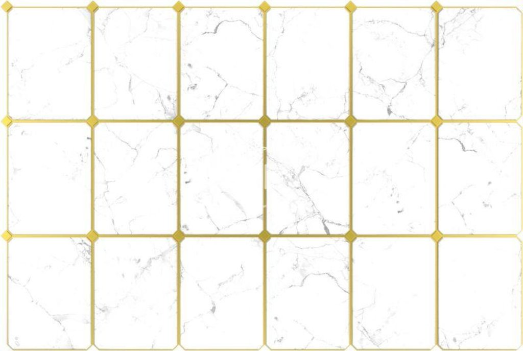 Панели ПВХ: Плитка Мрамор светлый в Мир Потолков