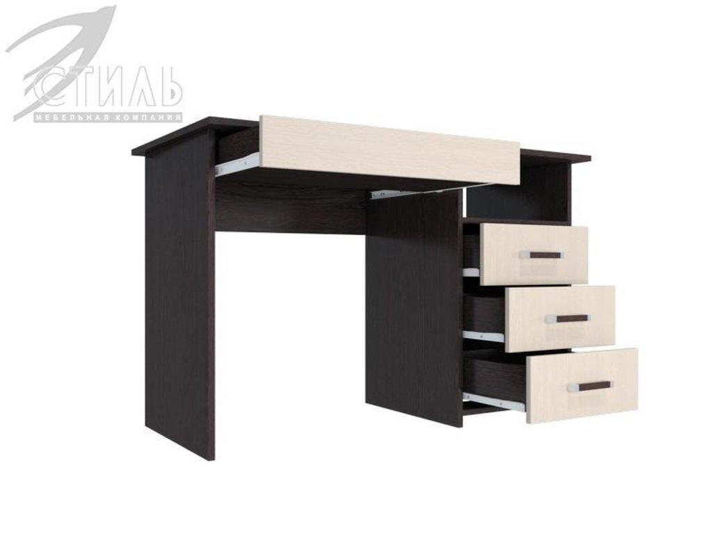 Компьютерные столы: Стол компьютерный с надстройкой  Лик-5 (СП-3+ПСК-6_3) в Диван Плюс
