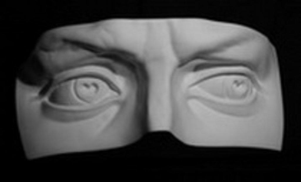 Гипсы: Глаза Давида в Шедевр, художественный салон