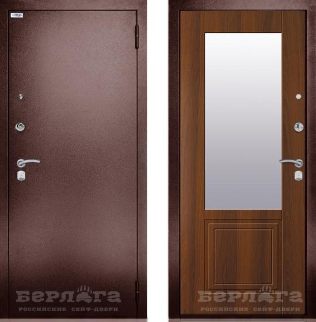 Входные двери в Тюмени: Сейф-дверь Гала Оптима с зеркалом | Берлога в Двери в Тюмени, межкомнатные двери, входные двери
