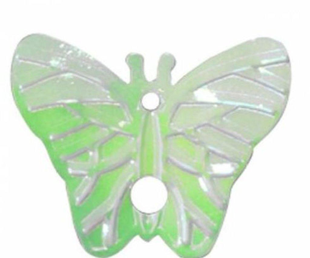 Бабочки: Пайетки бабочки,18*23мм.,упак/10гр.Астра(цвет 85 салатовый) в Редиант-НК