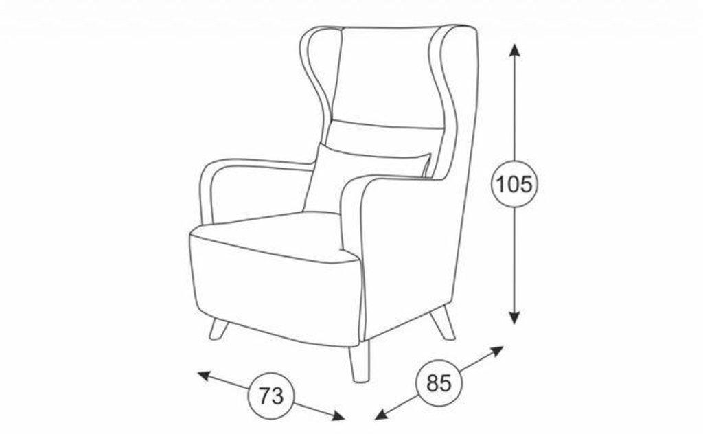 Кресла Меланж: Кресло Меланж ТК 234 в Диван Плюс