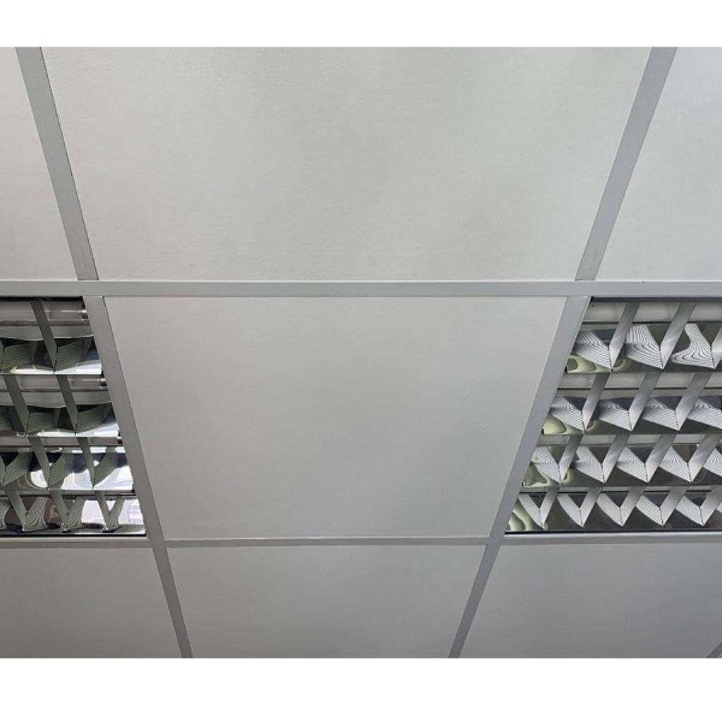 Подвесные потолочные плиты: АНГАРА ЛЁД® арт.600-600-7AL в Мир Потолков