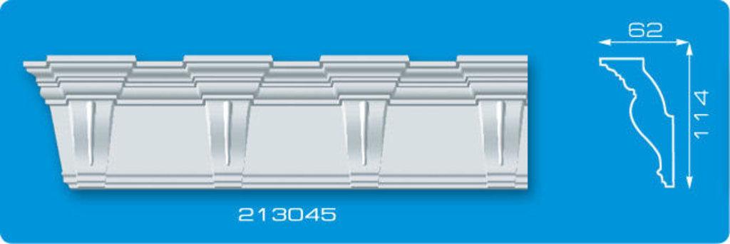 Плинтуса потолочные: Плинтус потолочный ФОРМАТ 213045 инжекционный длина 2м в Мир Потолков