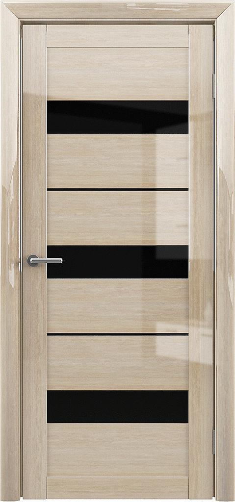 Двери Альберо: Прага глянец Мокко Мателюкс Бронза в Салон дверей Доминго Ноябрьск