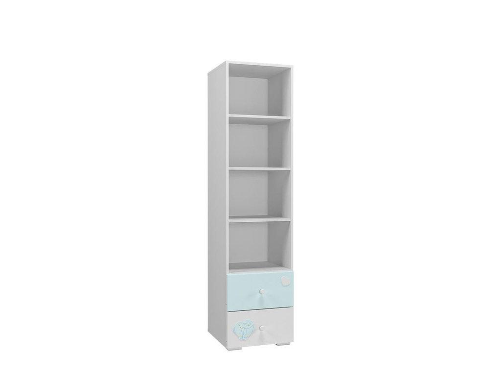 Детские шкафы и стеллажи: Стеллаж НМ 041.03 Лилу в Стильная мебель