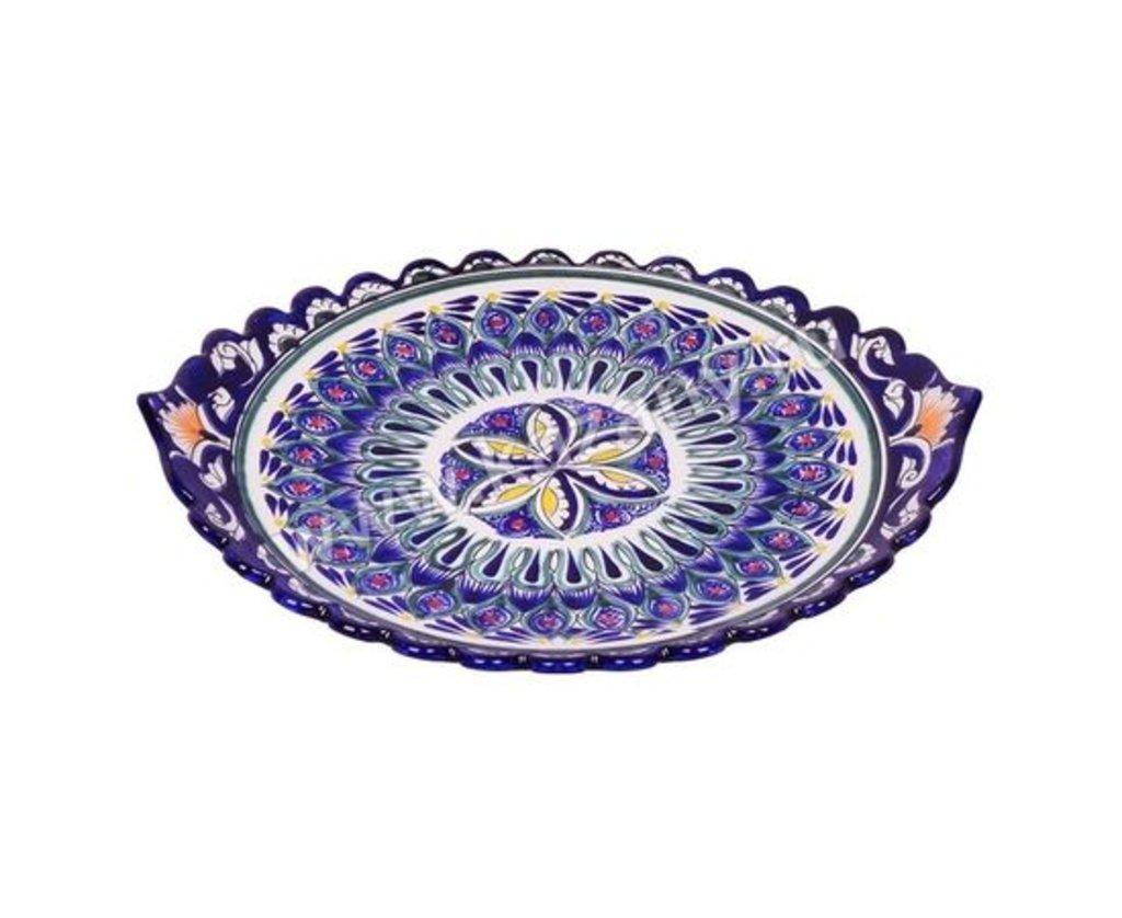 Мангалы. Казаны. Узбекская и турецкая посуда: Блюдо для шашлыка «Риштон» в Сельский магазин
