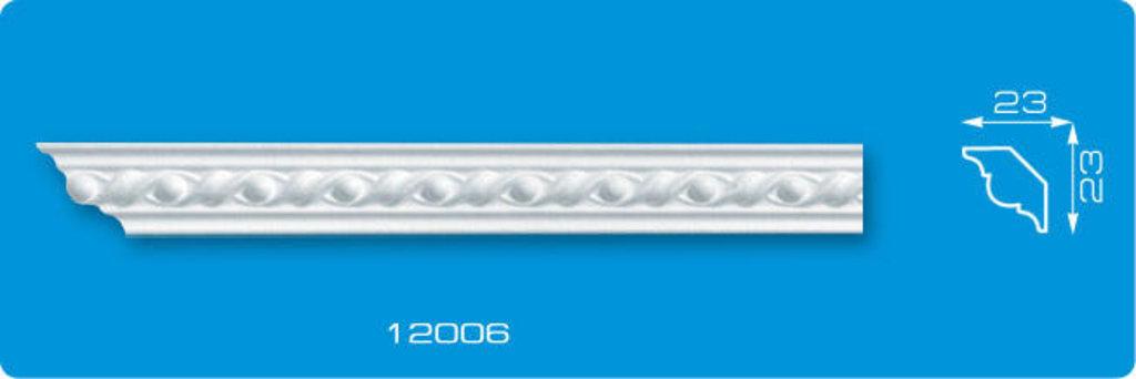 Плинтуса потолочные: Плинтус потолочный ФОРМАТ 12006 инжекционный длина 1,3м, узкий в Мир Потолков