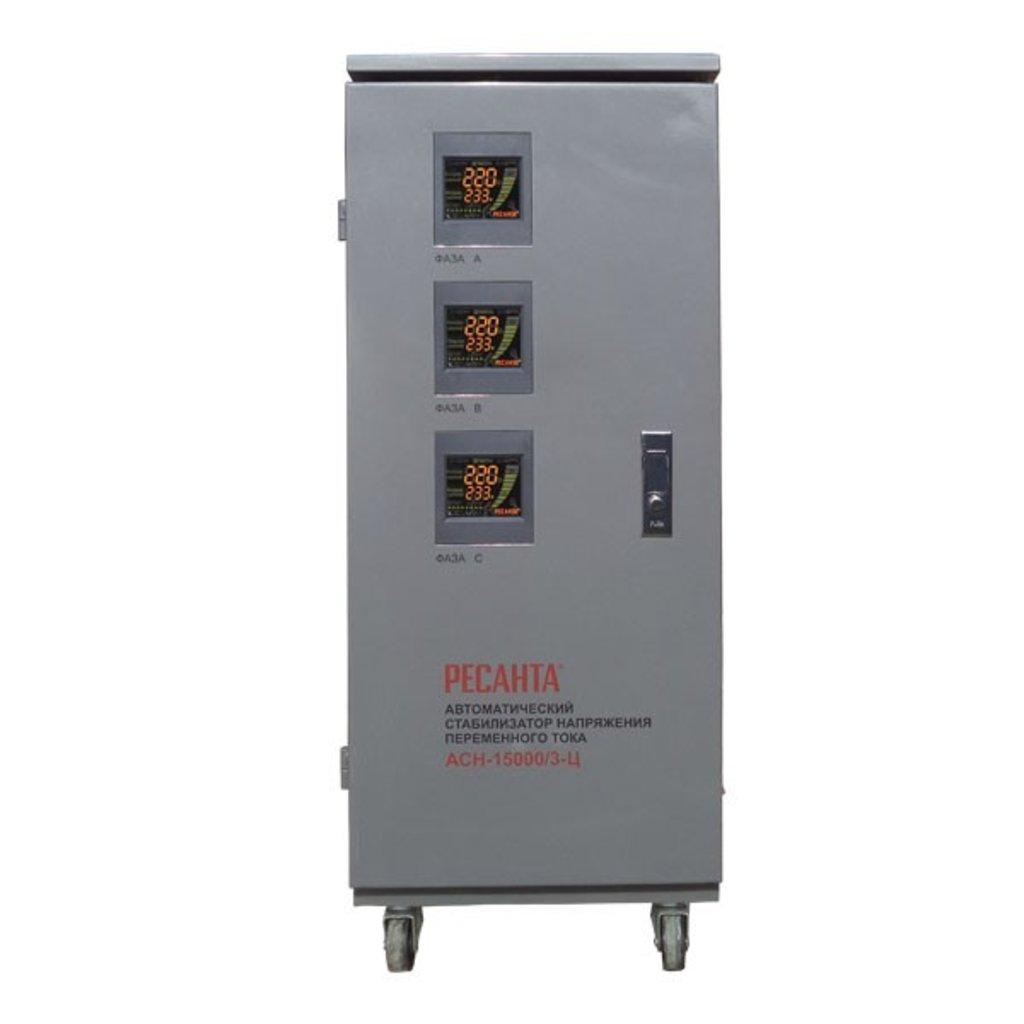 Электронного типа: Трехфазный стабилизатор электронного типа РЕСАНТА АСН-15000/3-Ц в РоторСервис, сервисный центр, ИП Ермолаев Д. И.