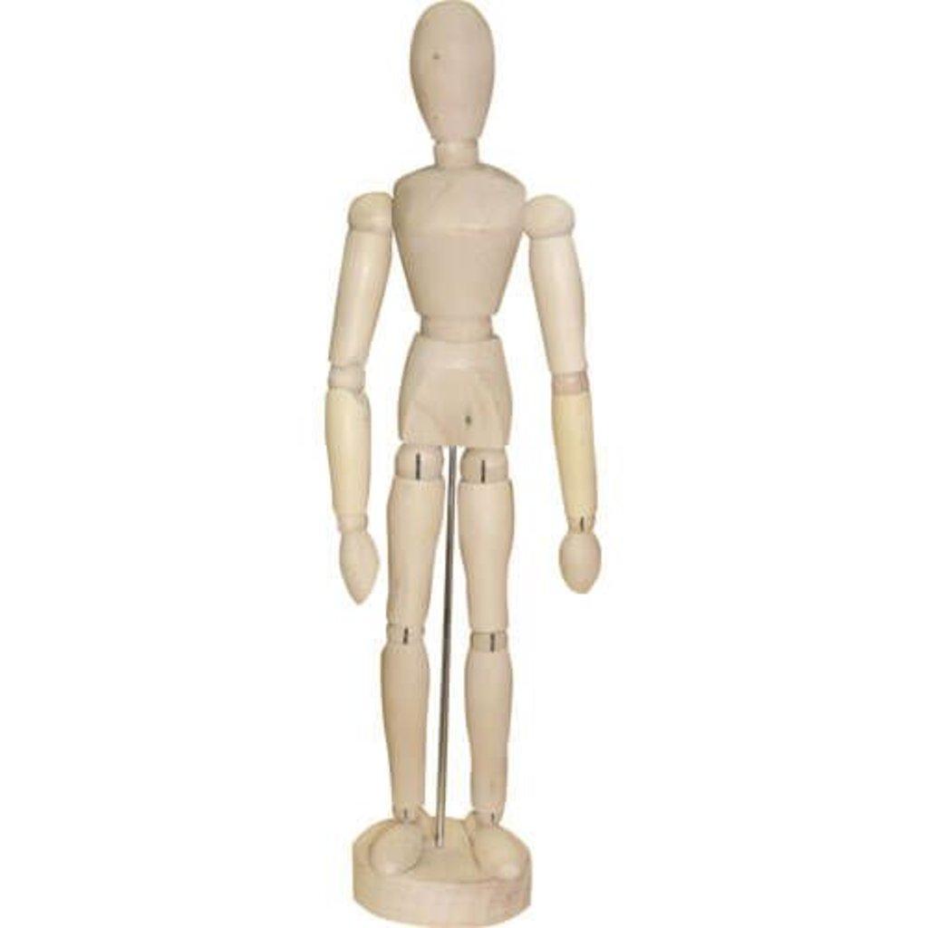 Дерево,МДФ: Манекен человека 40см женский в Шедевр, художественный салон