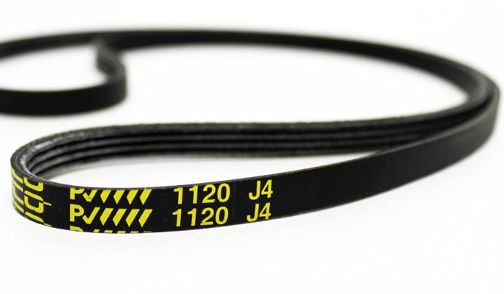 Ремни привода барабана: Ремень для стиральной машины 1120 J4, 116LG124, (1.11.029.15), WN796, BLJ113UN в АНС ПРОЕКТ, ООО, Сервисный центр