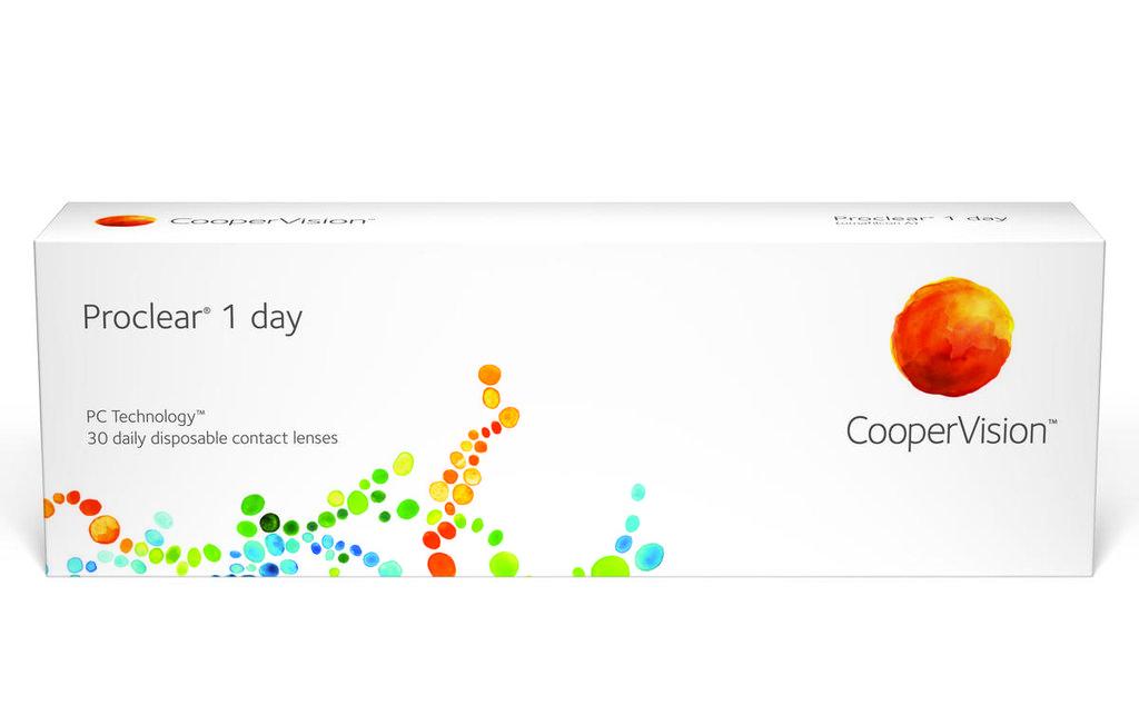 Контактные линзы: Контактные линзы Proclear 1-Day (30шт / 8.7) CooperVision в Лорнет