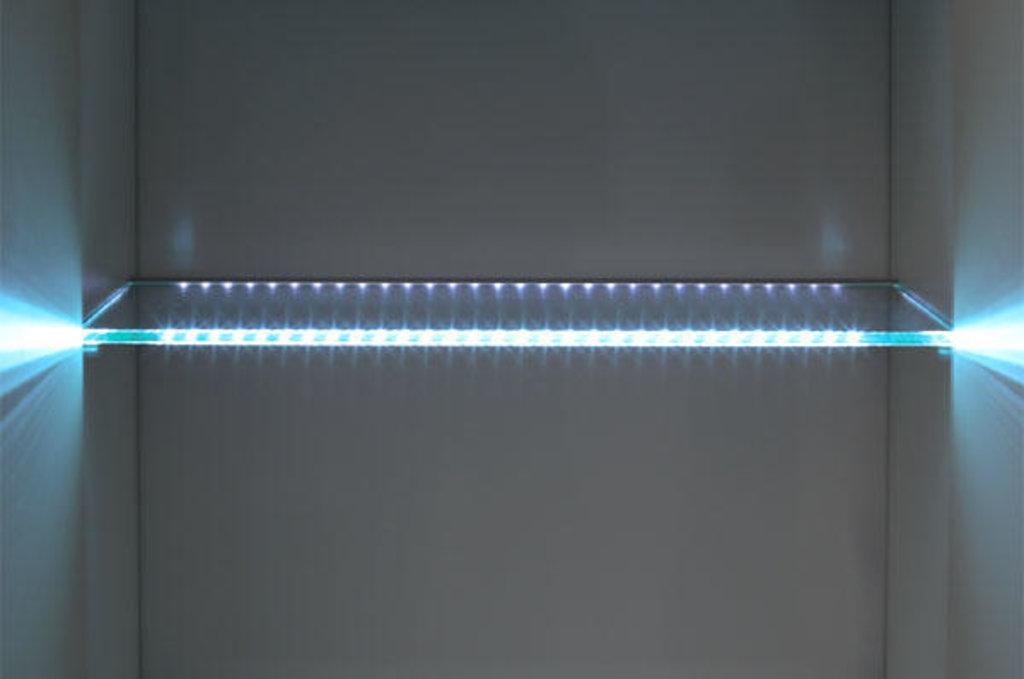 Декор для мебели: Комплект подсветки для полки стеклянной Виктория в Стильная мебель