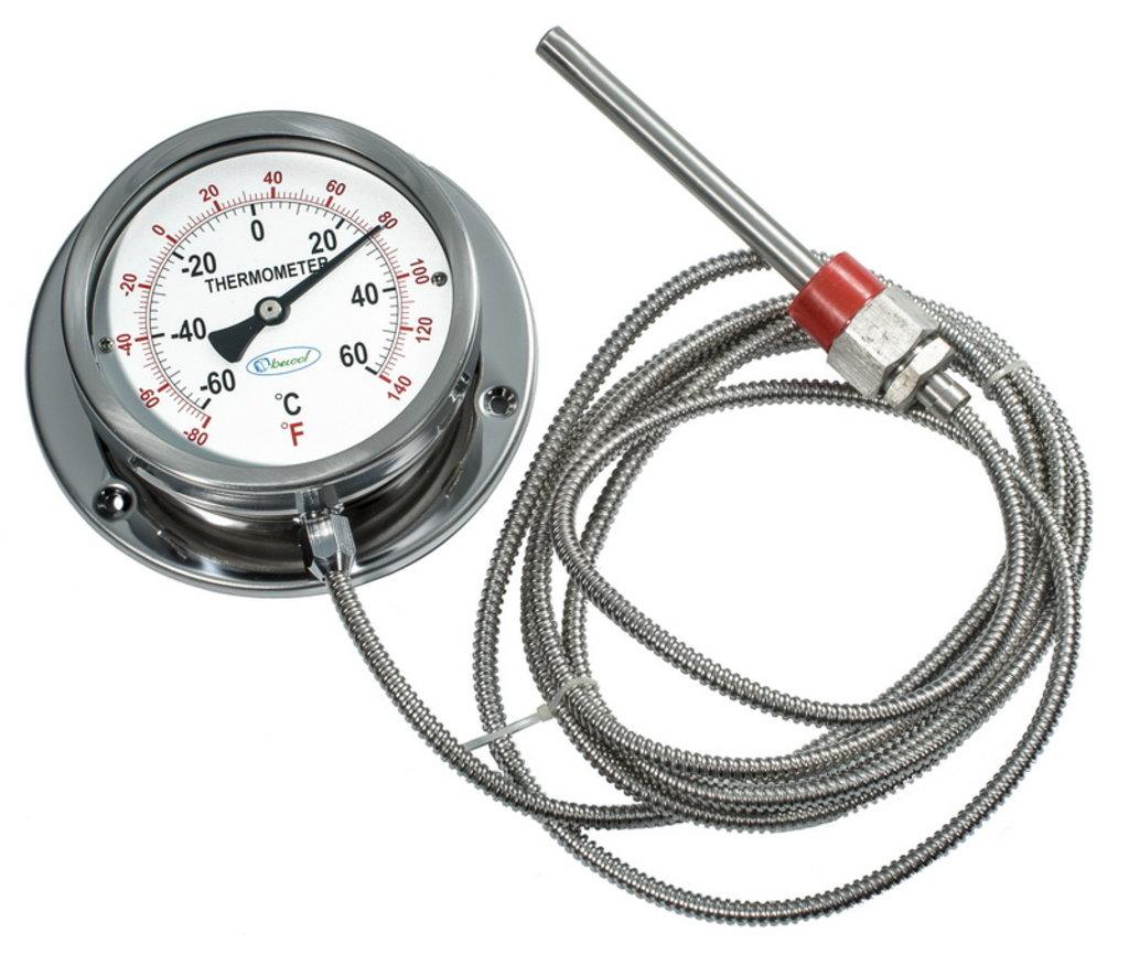 Контрольно-измерительные приборы (КИПиА): Термометр манометрический в Техносервис, ООО