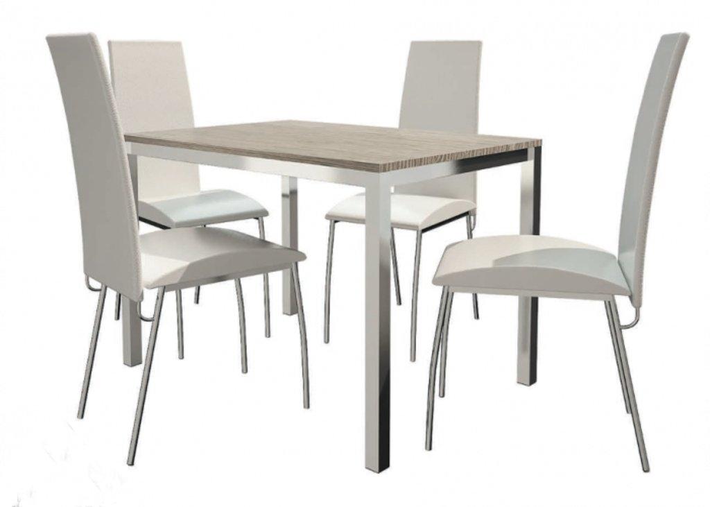 Столы кухонные.: Стол ПГ-19 h=708 (хром) в АРТ-МЕБЕЛЬ НН
