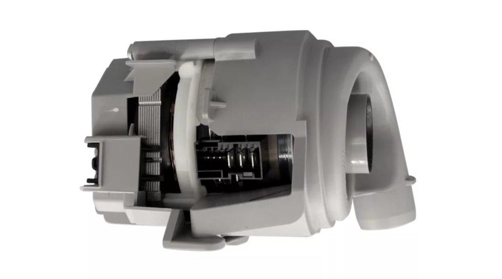 Запчасти для посудомоечных машин: Основной (циркуляционный) насос посудомоечной машины ПММ, Bosch, Siemens, Neff, Gaggenau, 12014980, 0012014980 в АНС ПРОЕКТ, ООО, Сервисный центр