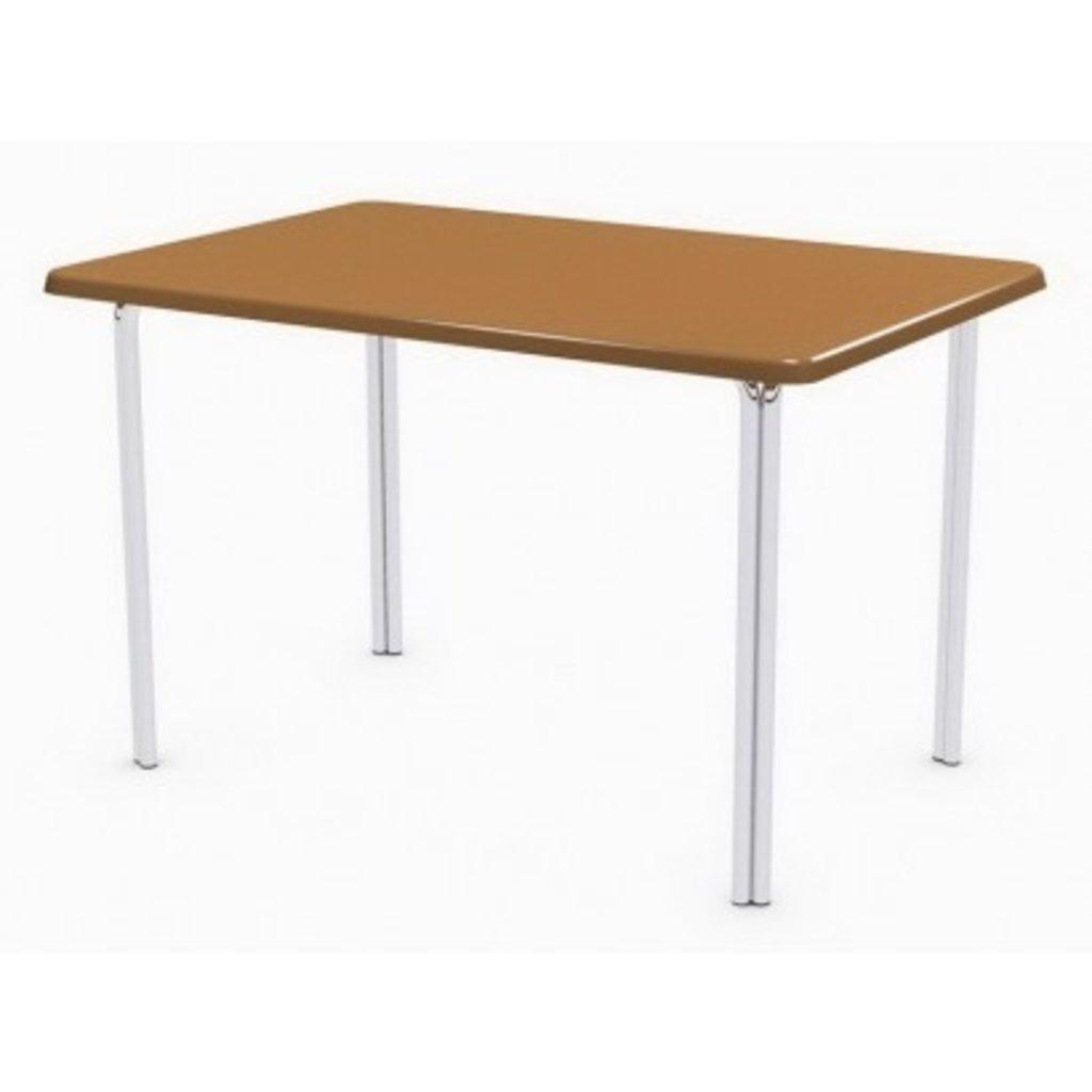 Столы для ресторана, бара, кафе, столовых.: Стол прямоугольник 110х70, подстолья № 4 прямоугольник серая в АРТ-МЕБЕЛЬ НН