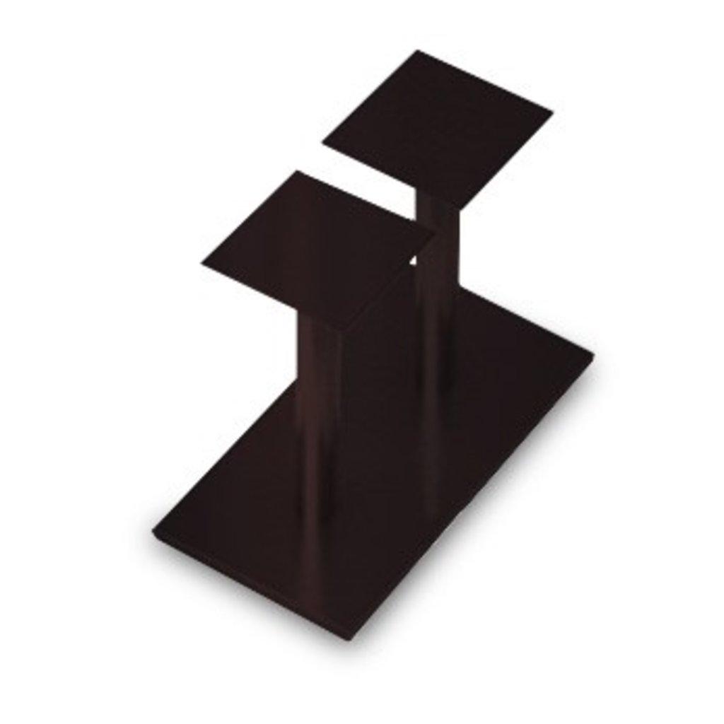 Подстолья для столов.: Подстолье 04 ST 63/715 (металлик, чёрный, коричневый, золото) в АРТ-МЕБЕЛЬ НН
