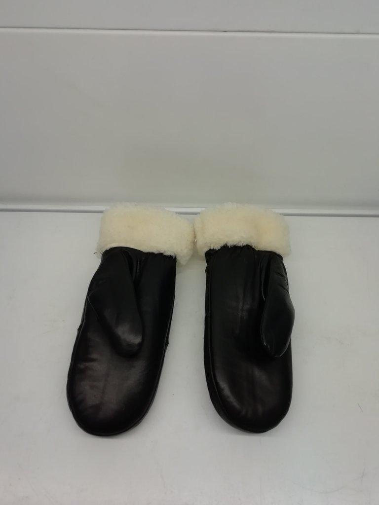 Изделия из натурального меха и кожи (перчатки, варежки, тапочки): Рукавицы женские кожаные в Сельский магазин
