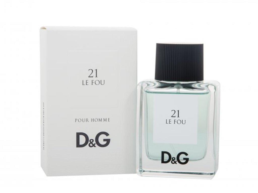 Dolce&Gabbana: D&G 21 Le Fou Туалетная вода edt муж 50 ml в Элит-парфюм