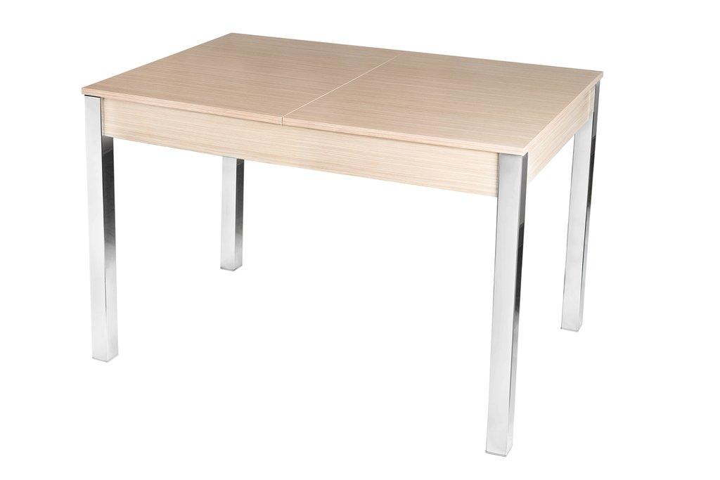 Столы кухонные.: Стол ПГ-31 раздвижной с вкладышем (хром) в АРТ-МЕБЕЛЬ НН
