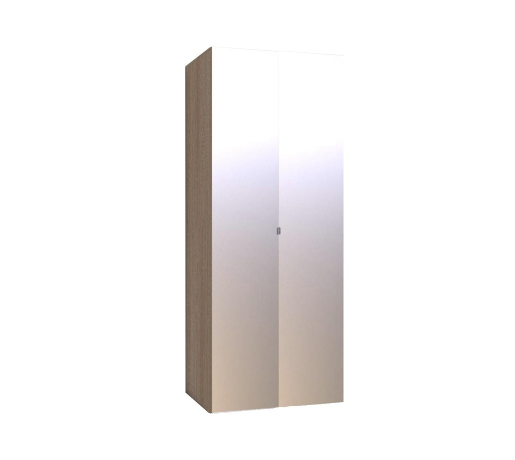 Шкафы для одежды и белья: Шкаф для одежды WYSPAA 35 (Зеркало+Зеркало) в Стильная мебель