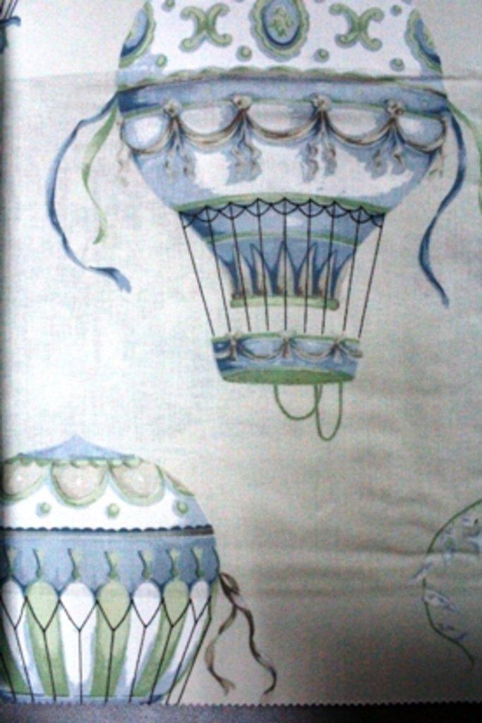Портьерные ткани: Balloons в Салон штор, Виссон
