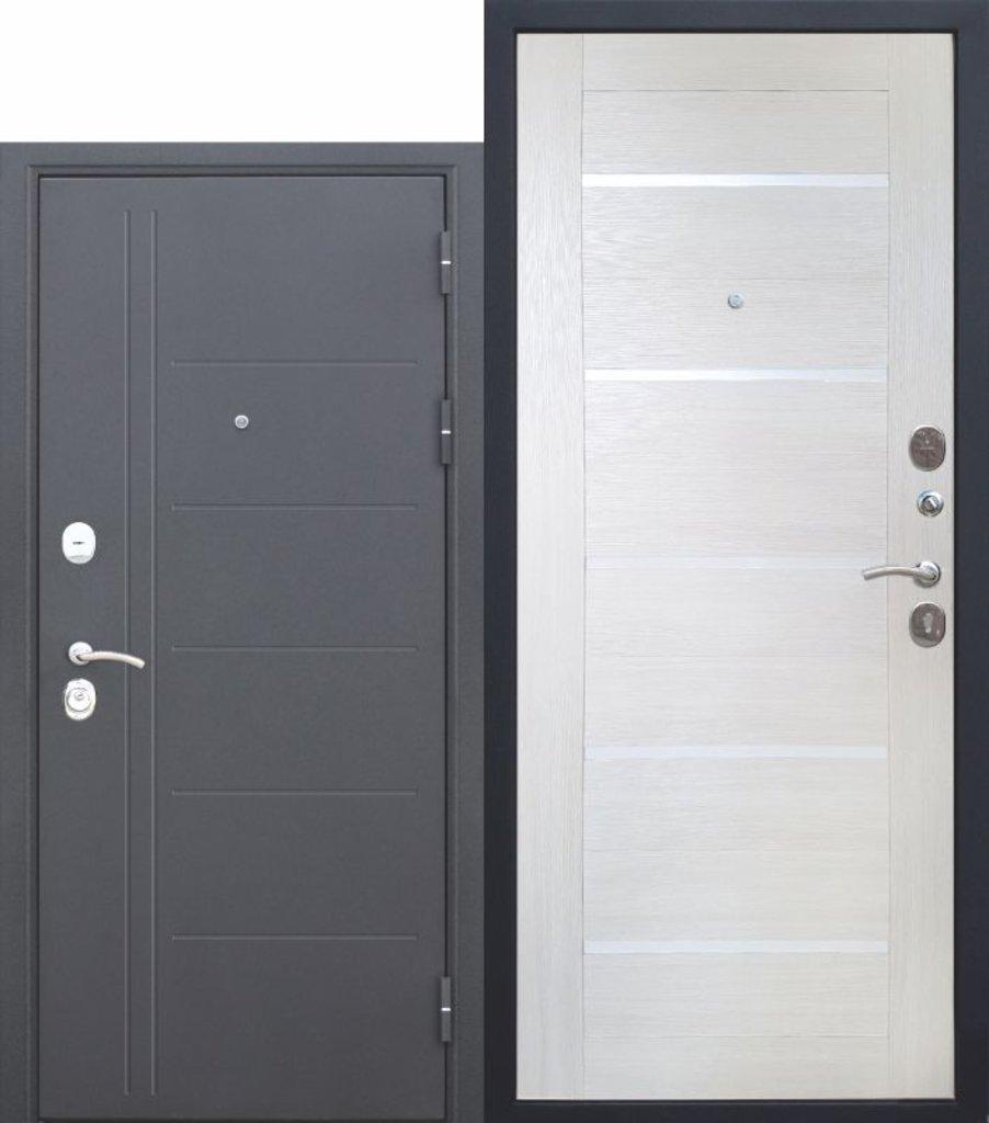 Двери завода Феррони: 10 см Троя Серебро Лиственница беж Царга в Модуль Плюс